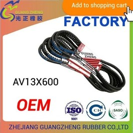 Raw Edge Cogged v belt-3