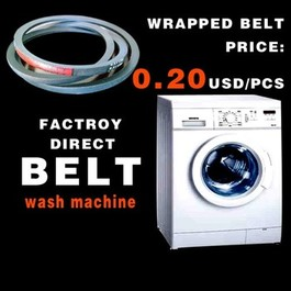 Rubber v belt B65 for washing machine