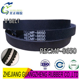 V BELT RECMF-8650 FOR MITSUBISHI REPLACEMENT AUTOMOTIVE V BELT-factory